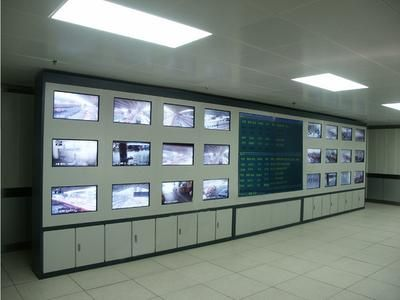 操作台 免费出图纸 厂家直销 机柜 安防监控电视墙