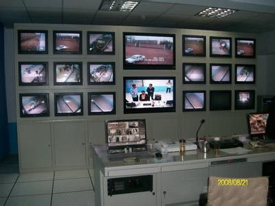 大型电视屏幕墙